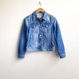J. Crew : Denim jacket in Holston Wash XS